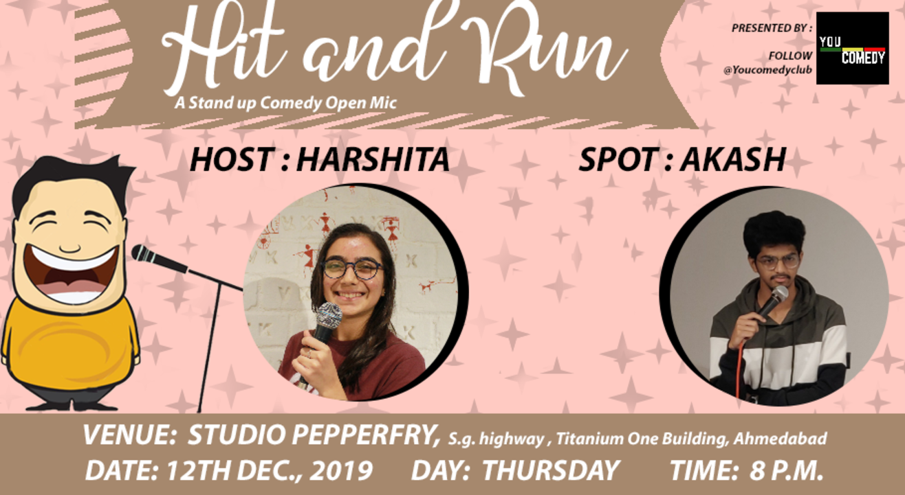 Hit&Run 77.0 - Stand-up Comedy Open Mic