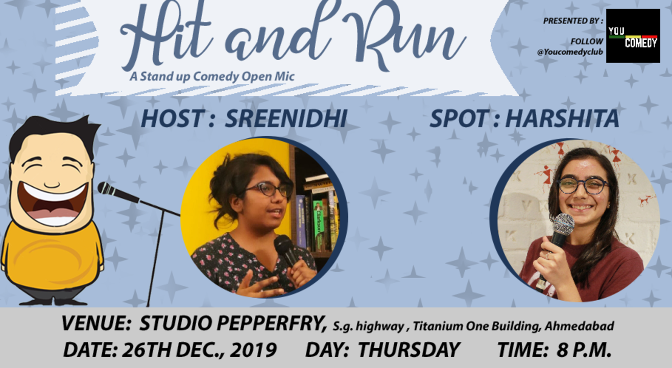 Hit&Run 79.0 - Stand-up Comedy Open Mic