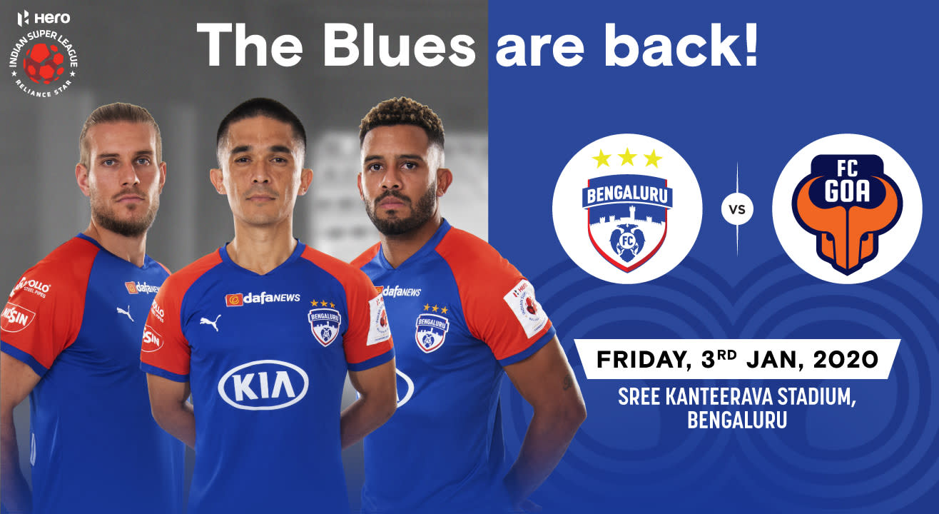 Hero Indian Super League 2019-20: Bengaluru FC vs FC Goa