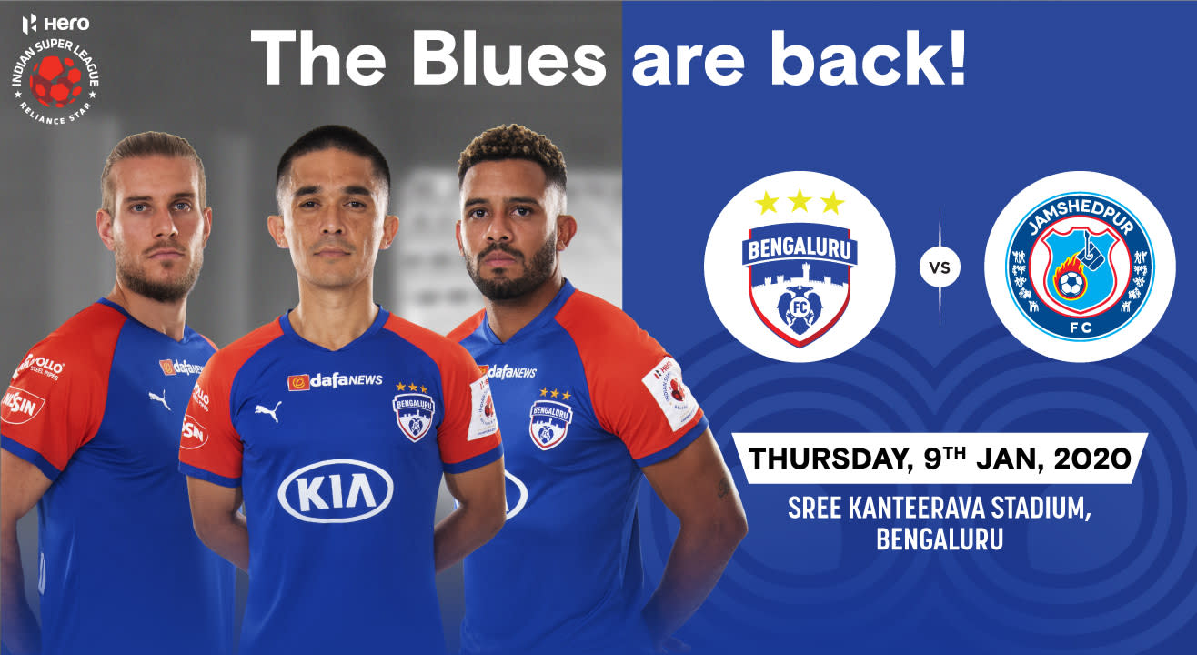 Hero Indian Super League 2019-20: Bengaluru FC vs Jamshedpur FC