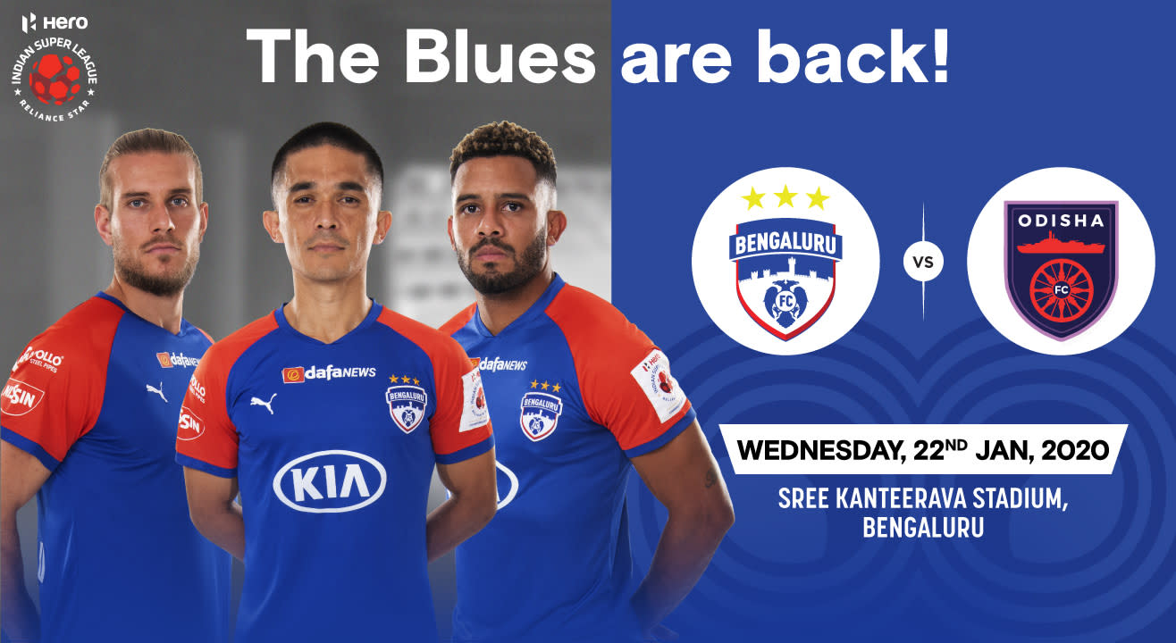 Hero Indian Super League 2019-20: Bengaluru FC vs Odisha FC