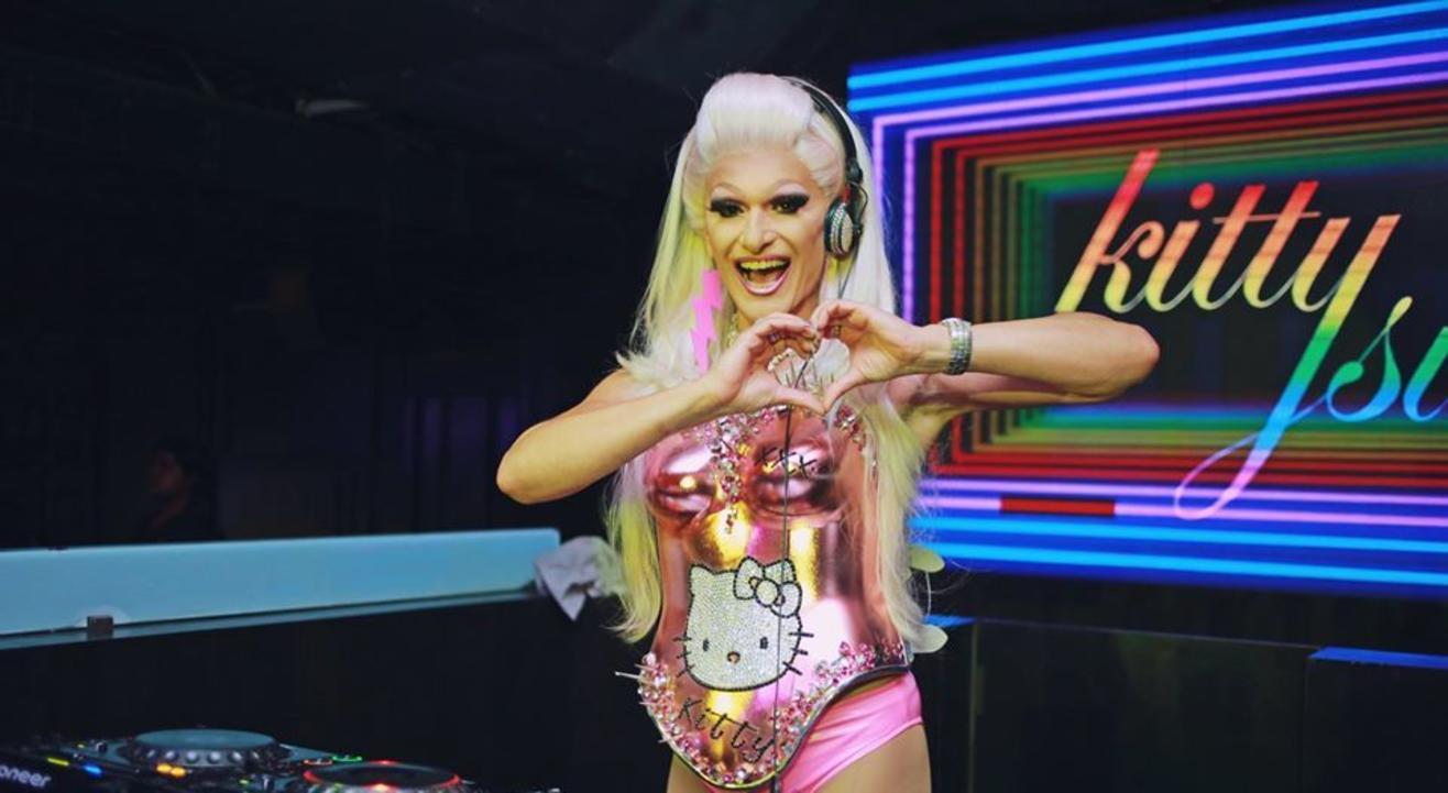DJ Kitty Glitter (Kitty Su Delhi)