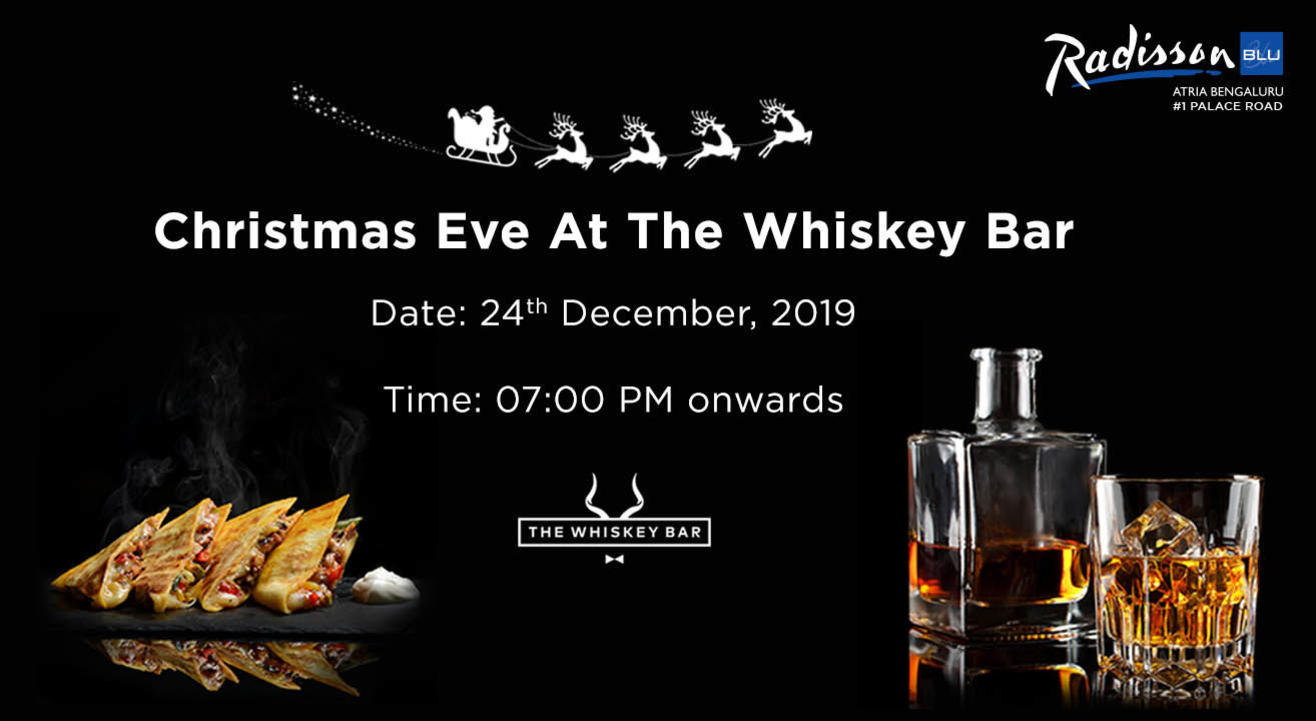 Christmas Eve at the Whiskey Bar