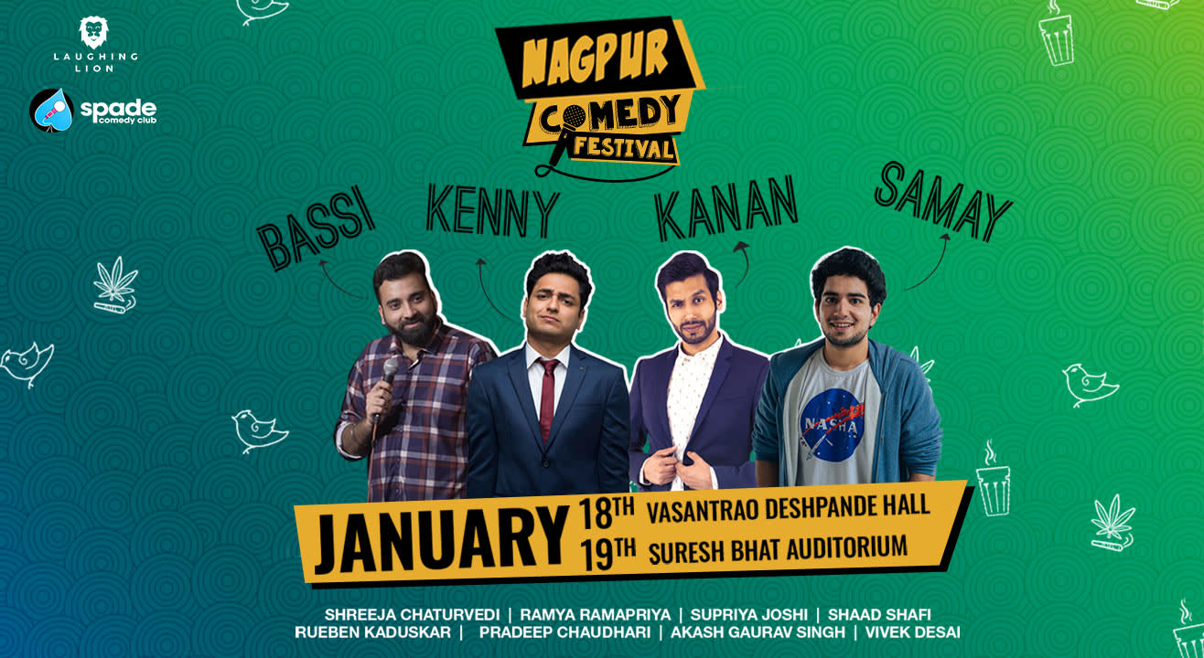 Laugh your hearts out at Nagpur Comedy Festival 2020