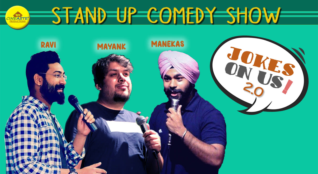 Jokes on Us  –A stand-up comedy show