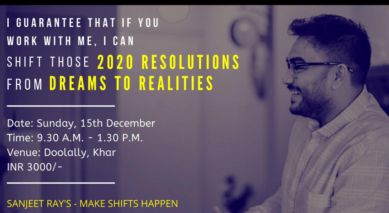 Make Shifts Happen By Sanjeet Ray