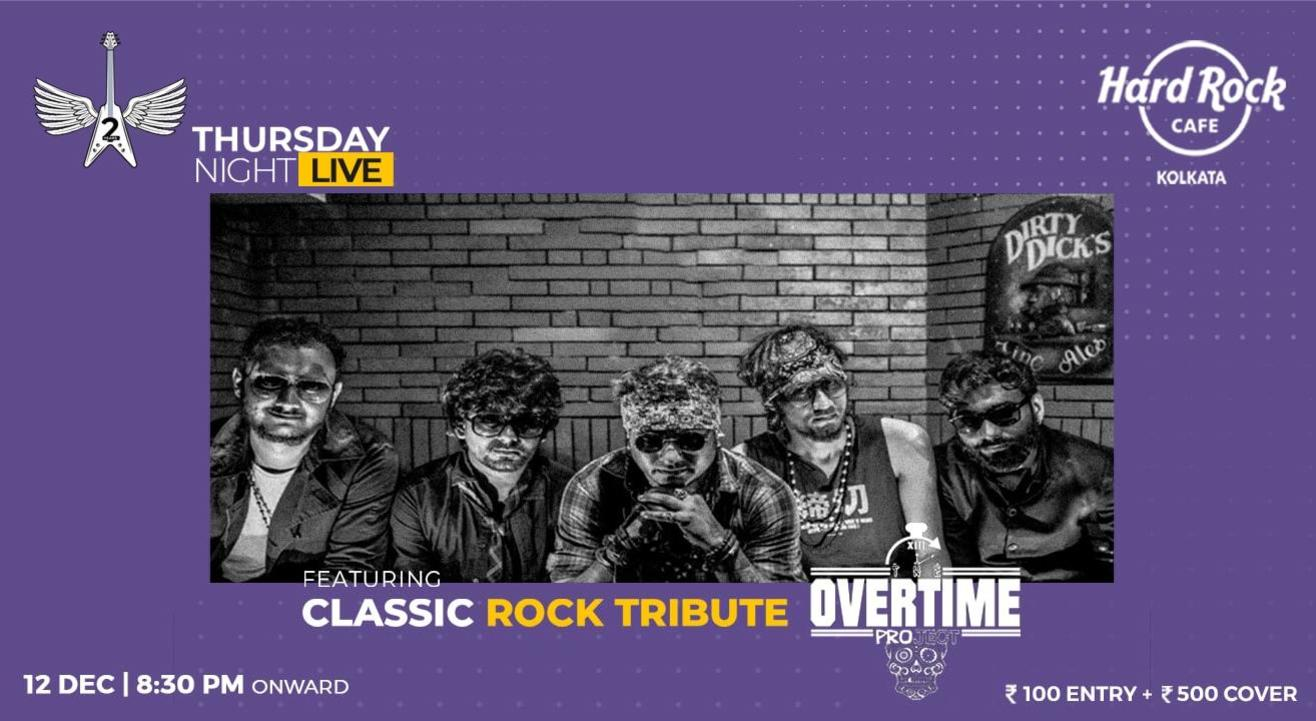 Tribute To Classic Rock Ft Overtime Project