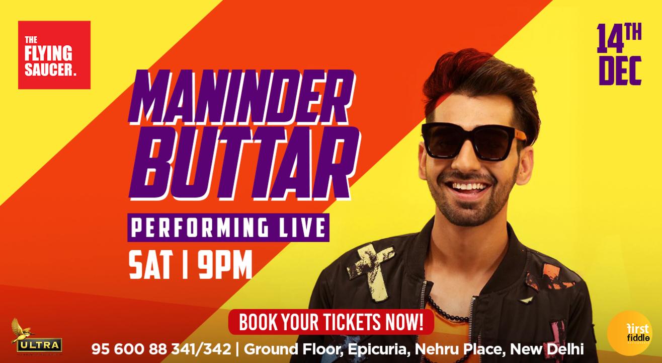 Maninder Buttar Performing Live