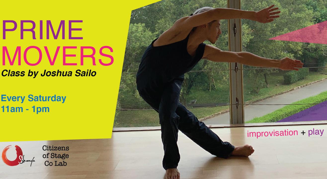 Prime Movers by Joshua Sailo