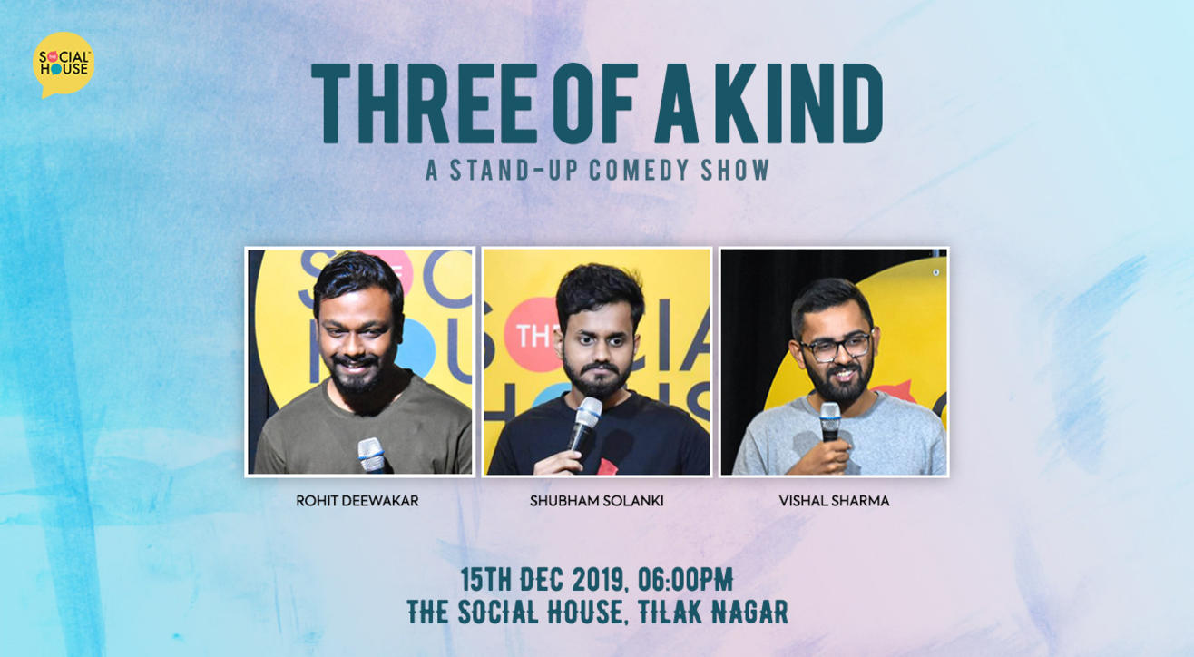 Three of a Kind - Stand up Comedy Show