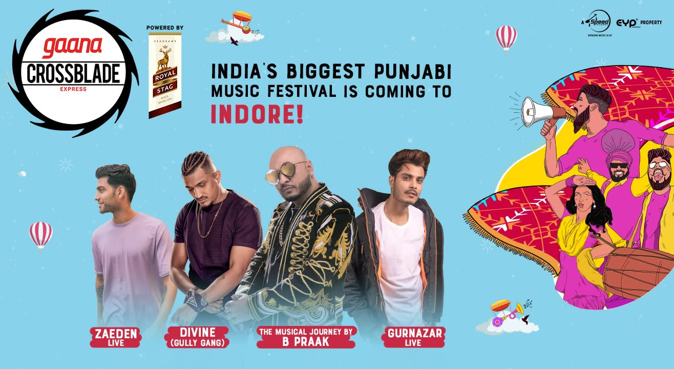 Gaana Crossblade Express 2019 | Indore
