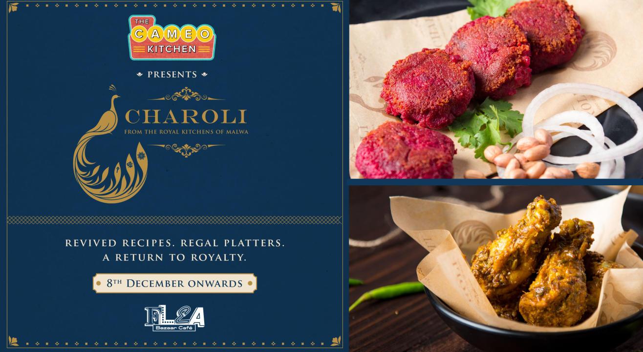 Charoli at Flea Bazaar Cafe