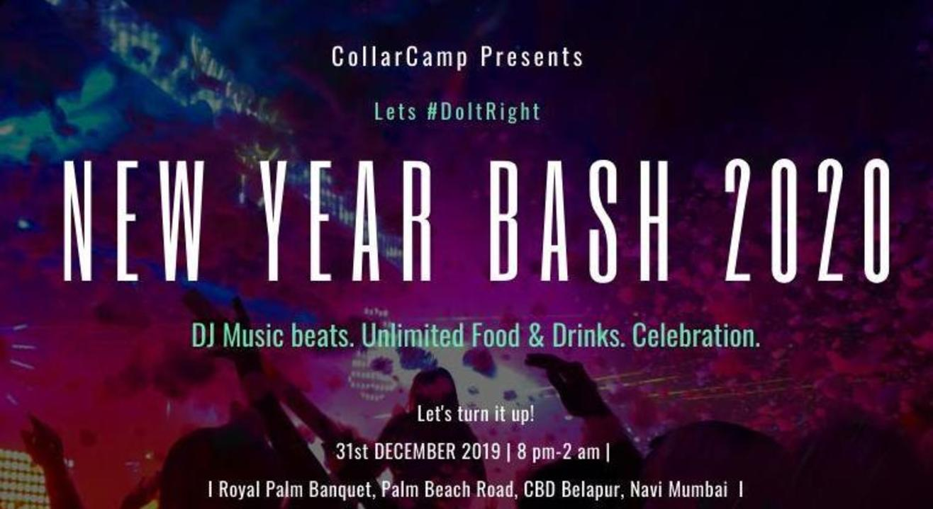 New Year Bash 2020 @Royal Palm Banquet, Navi Mumbai