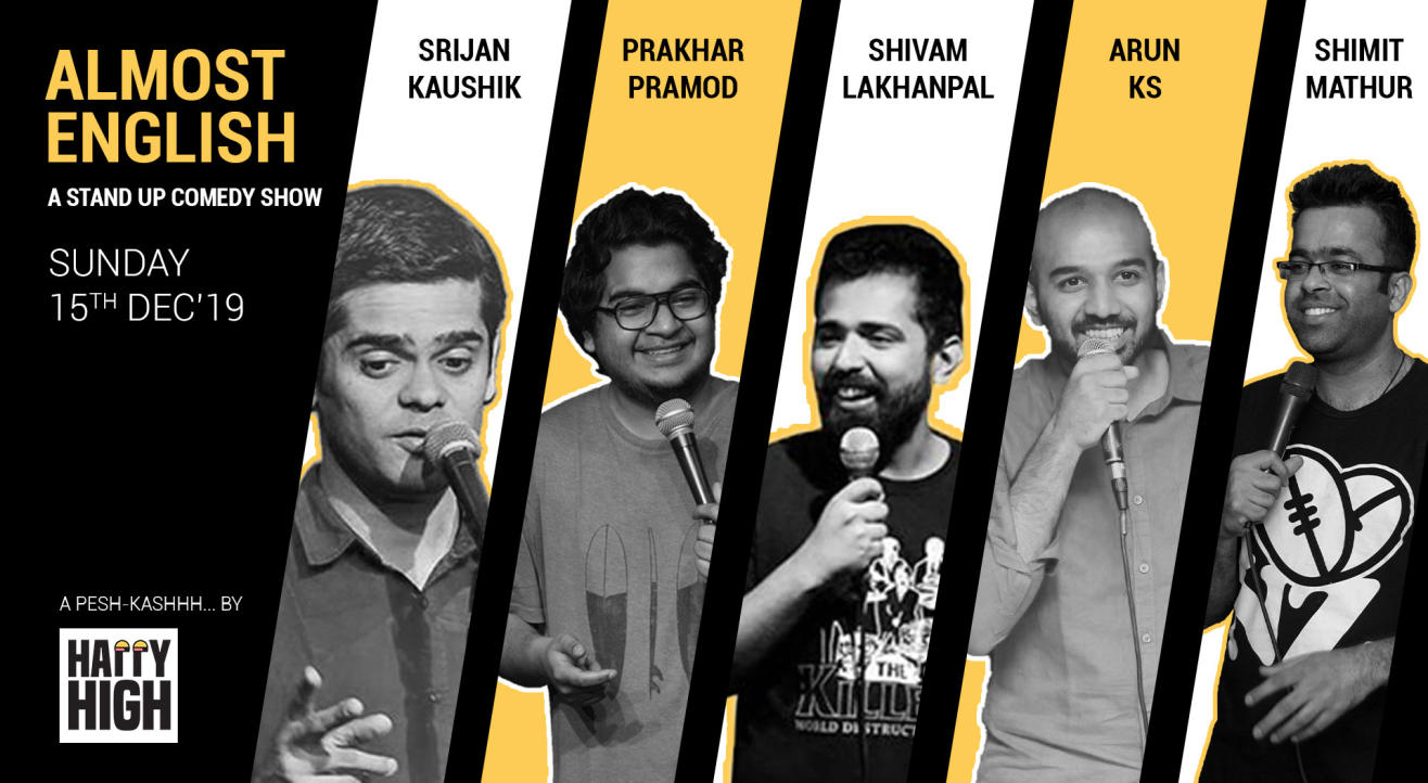 Almost English - A stand up comedy show