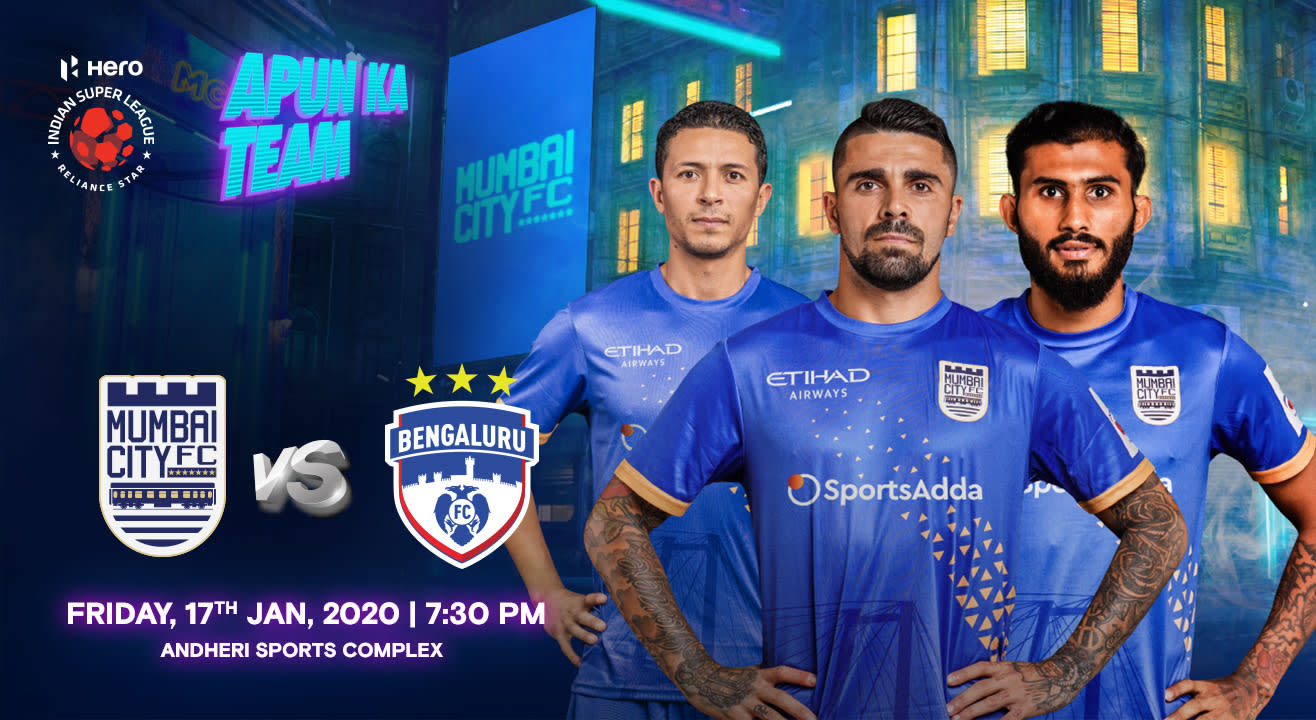 HERO Indian Super League 2019-20: Mumbai City FC vs Bengaluru FC