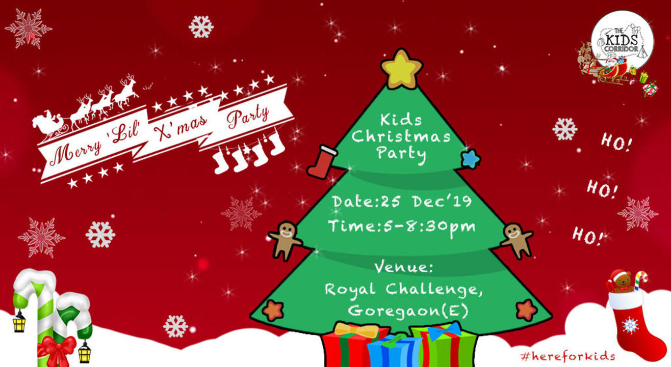 """Merry """"Lil"""" Kids Christmas Party"""