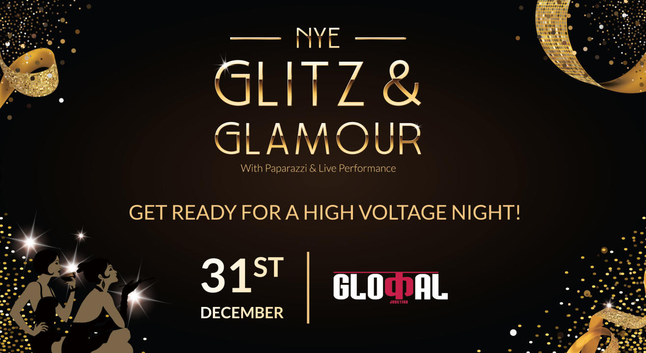 New Year Night with Glitz & Glamour at Glocal Junction  Andheri