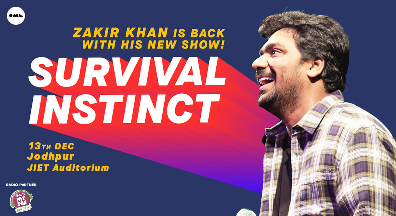 Survival Instinct A New Stand up Special by Zakir Khan, Jodhpur