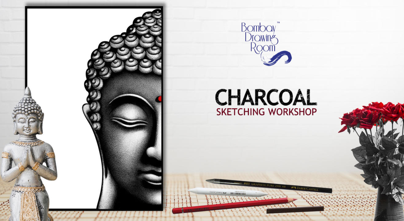 Charcoal Sketching Workshop by Bombay Drawing Room