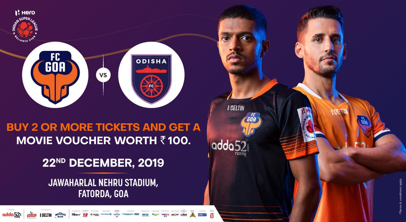 Hero Indian Super League 2019-20: FC Goa vs Odisha FC