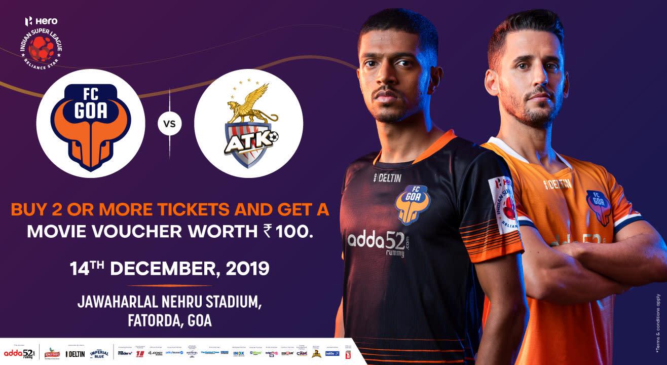 Hero Indian Super League 2019-20: FC Goa vs ATK