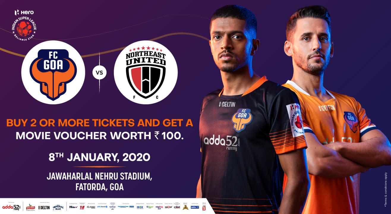 Hero Indian Super League 2019-20: FC Goa vs NorthEast United FC