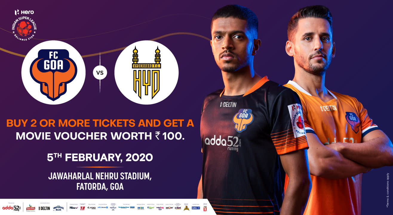Hero Indian Super League 2019-20: FC Goa vs Hyderabad FC