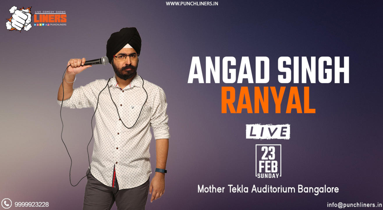 Punchliners Comedy Show ft Angad Singh Ranyal
