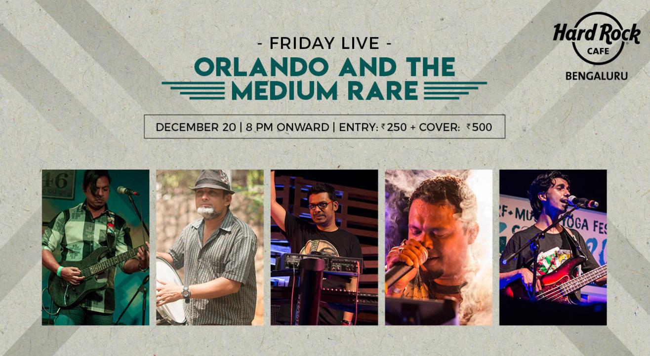 Friday Live ft. Orlando and the Medium Rare