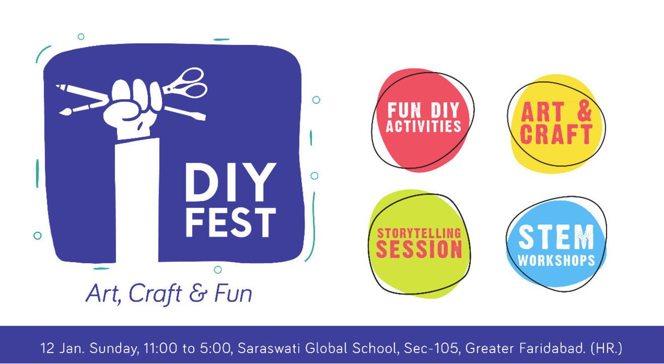 DIY Fest 2020 - A Festival of Arts & Crafts for Kids