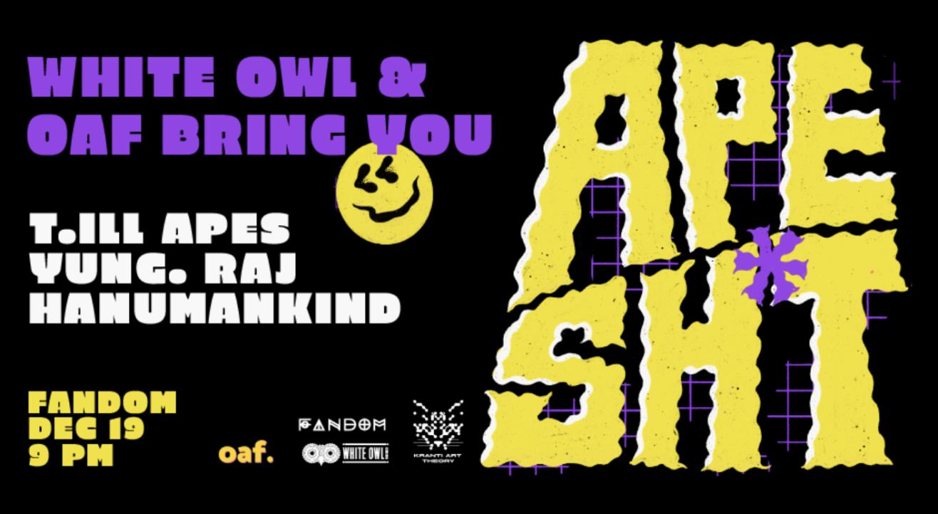 APE SH*T featuring T.ill apes, Hanumankind & Yung.raj