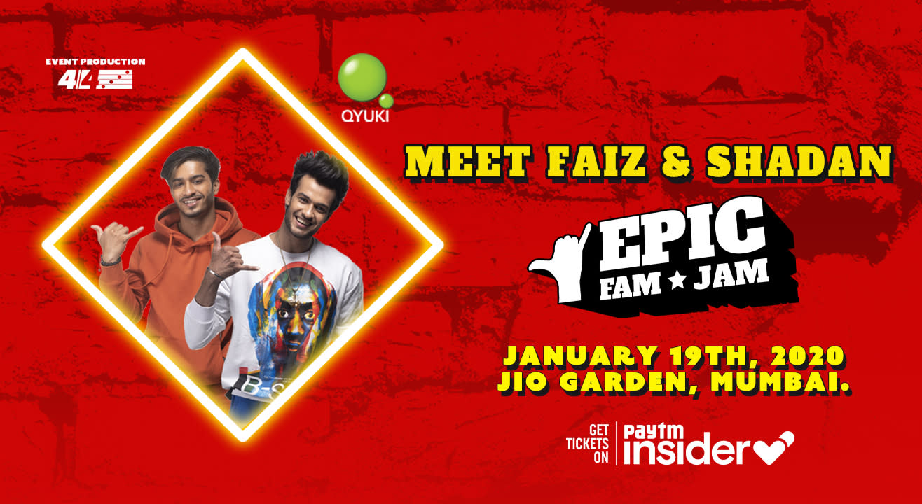 Meet Faiz & Shadan @ Epic Fam Jam | Mumbai | LIVE CONCERT