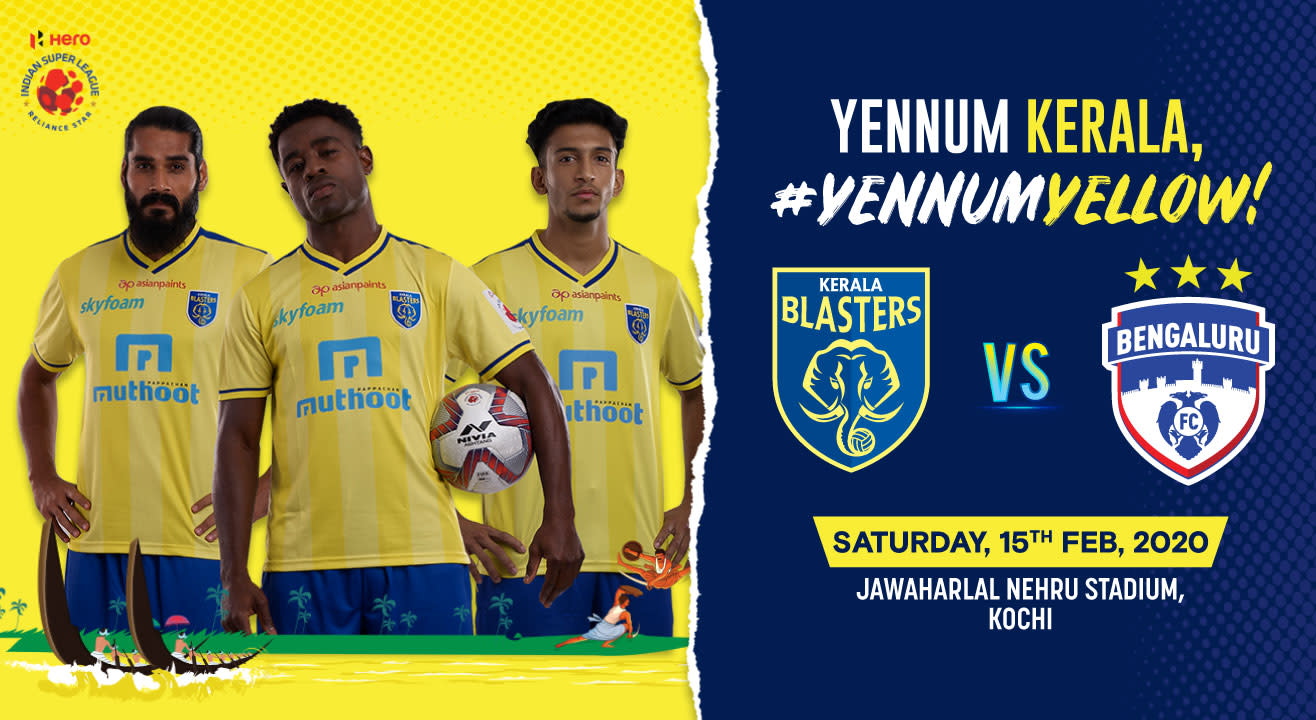 Hero Indian Super League 2019-20: Kerala Blasters FC vs Bengaluru FC