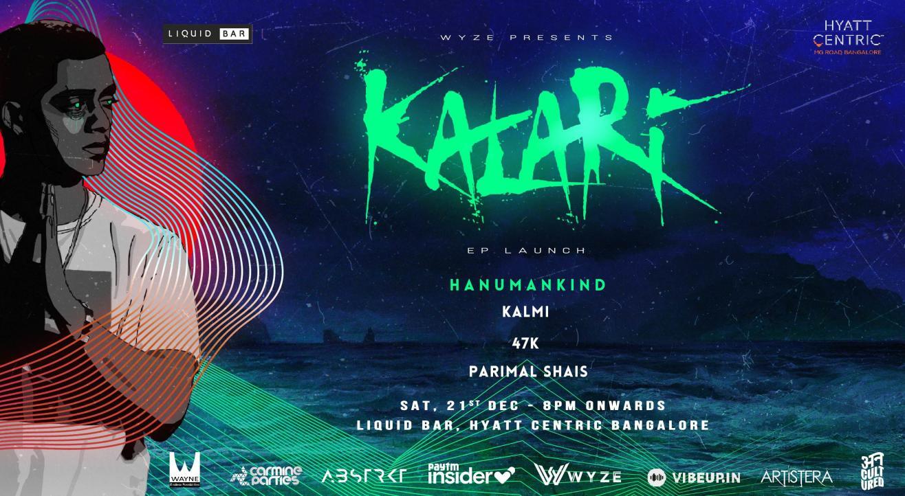 Kalari EP Launch feat. Hanumankind
