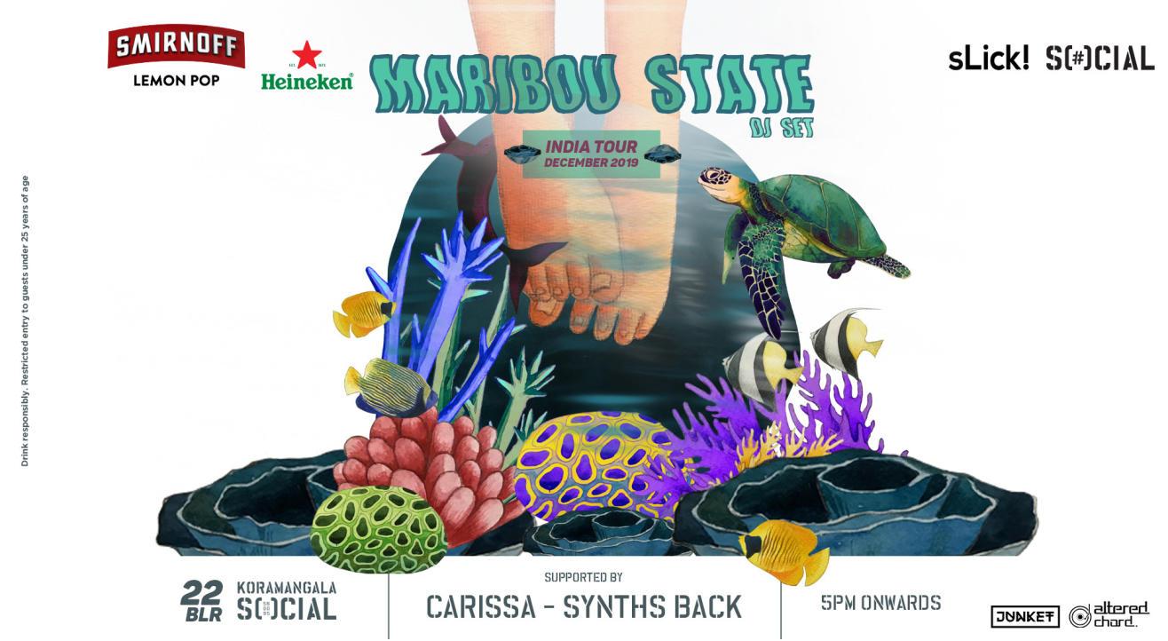 Maribou State (DJ Set) | 22nd Dec at Koramangala Social, Bangalore