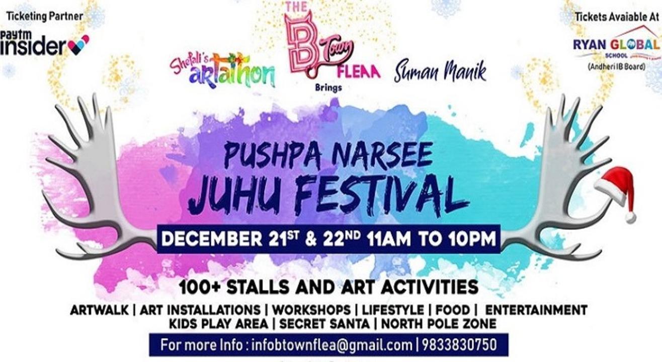 The B Town Flea Presents Pushpa Narsee Juhu Festival