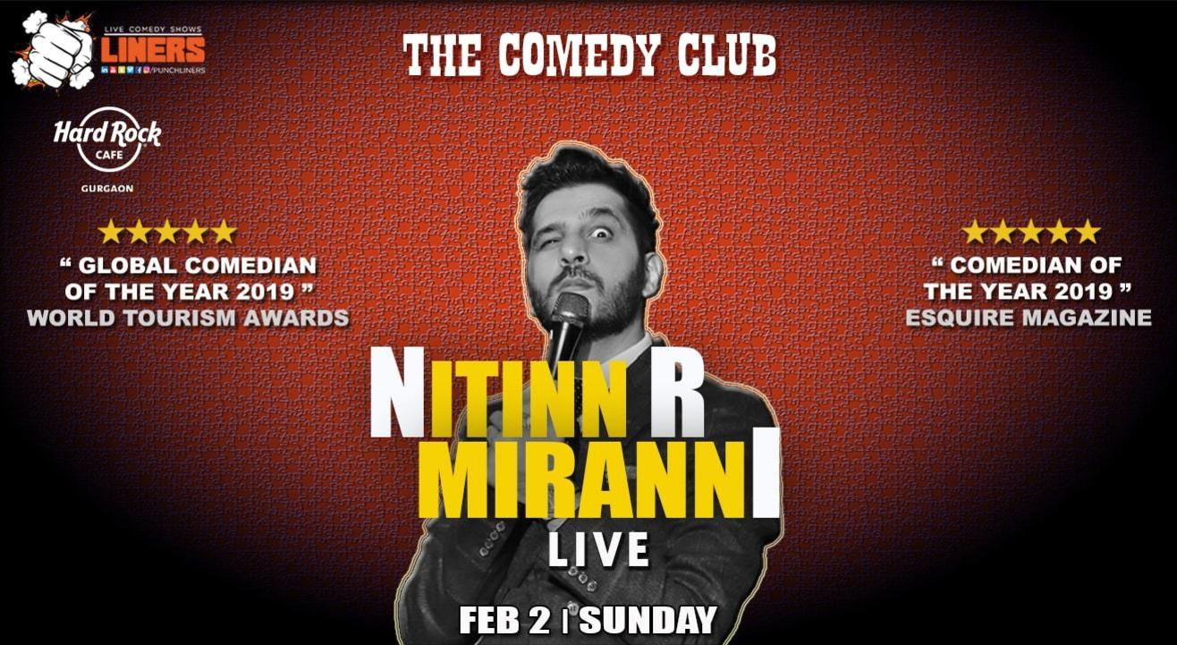 Punchliners Comedy Show ft. Nitin Mirani