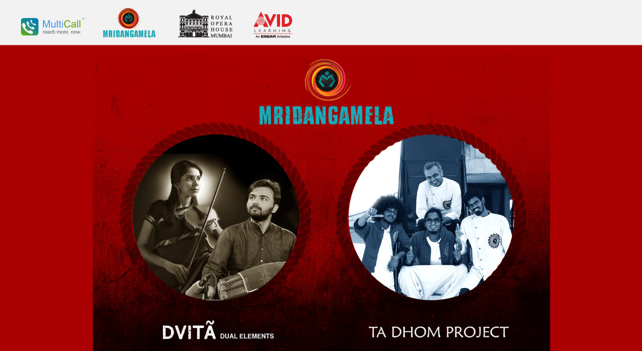 MridangaMela : A Fusion Carnatic and Contemporary Music Performance