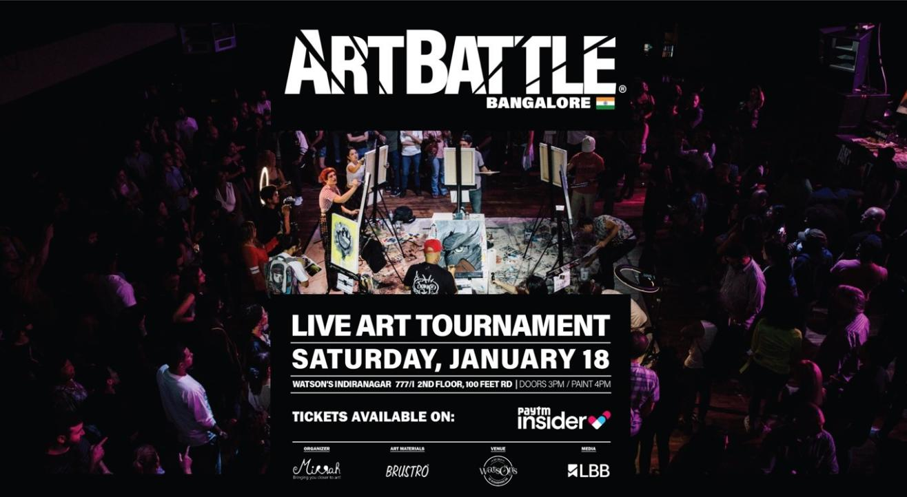 Art Battle Bangalore - 18 Jan 2020