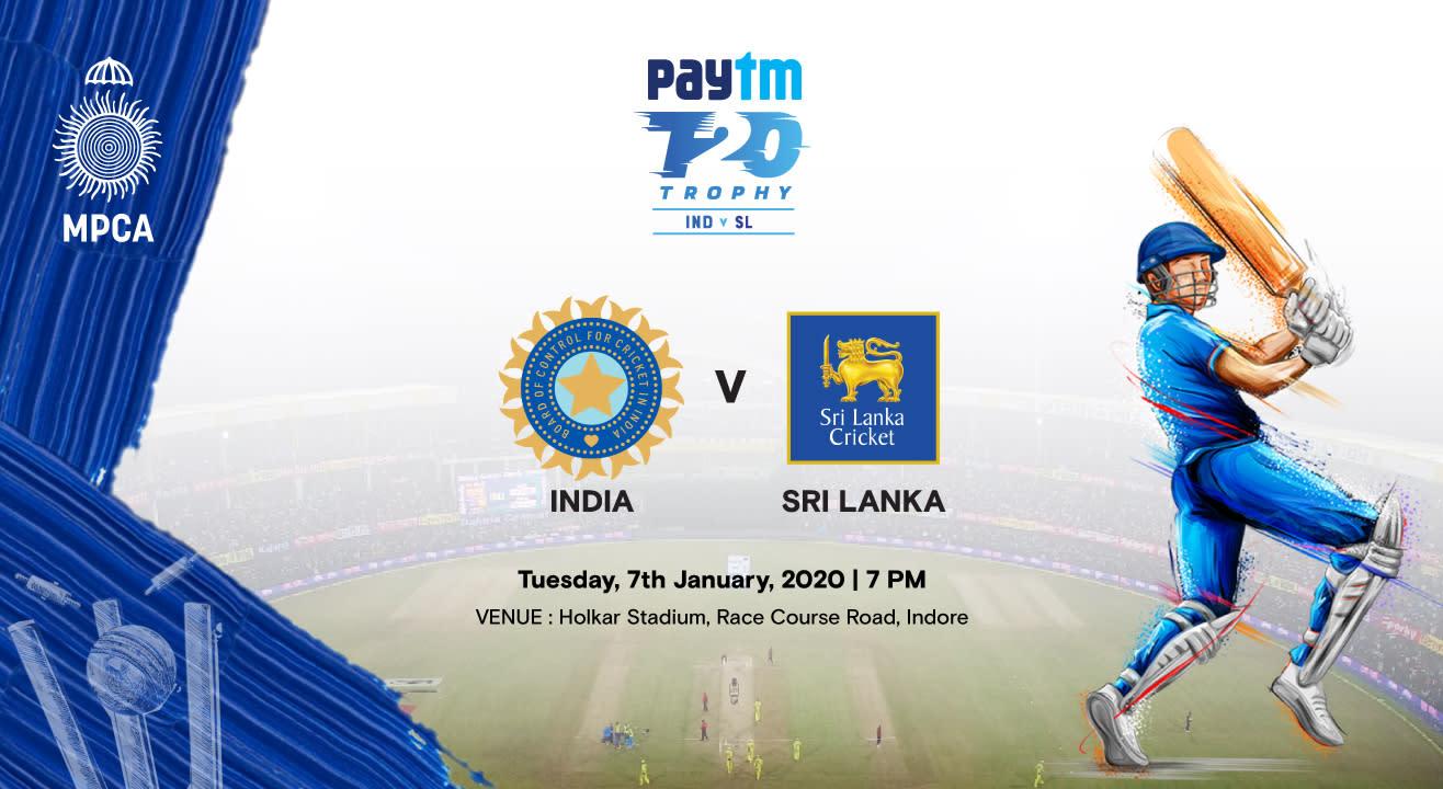 Paytm Series 2nd T20I: India vs Sri Lanka, Indore
