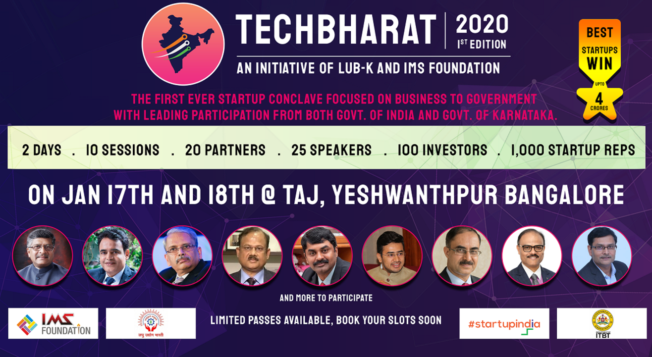 TechBharat 2020 - B2G Conclave for Startups
