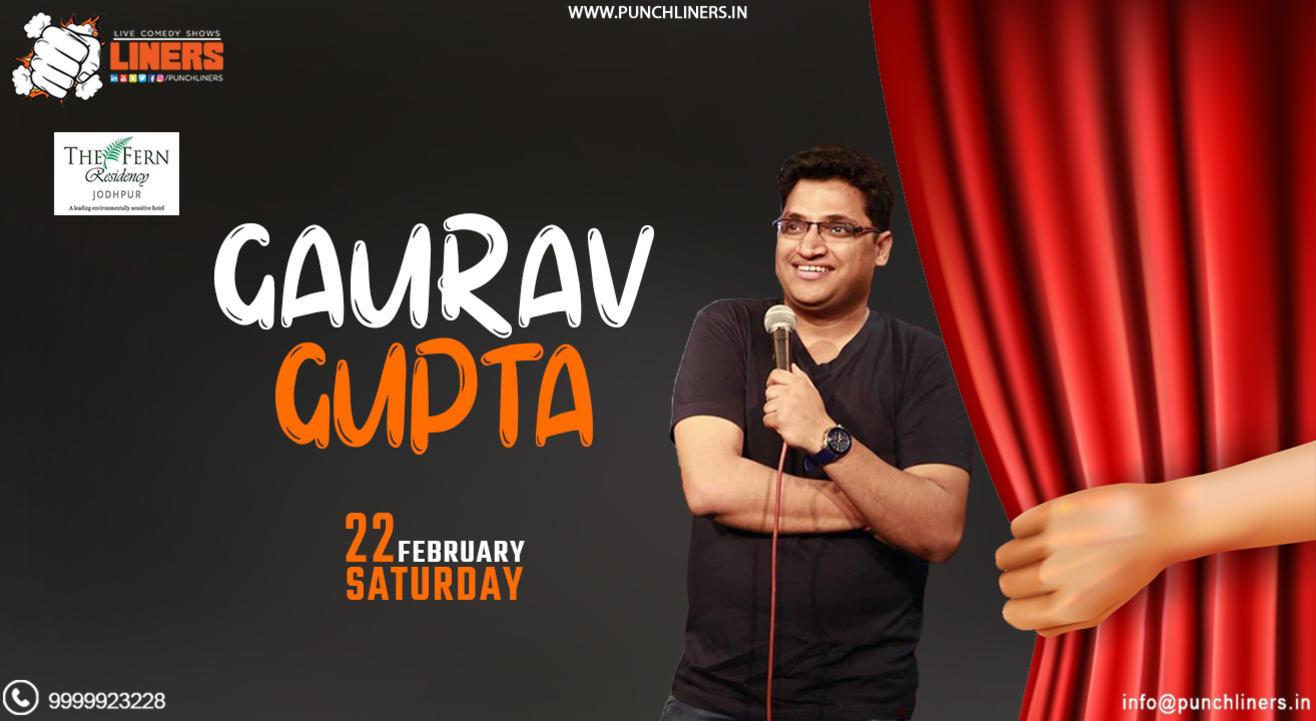 Punchliners Comedy Show ft. Gaurav Gupta