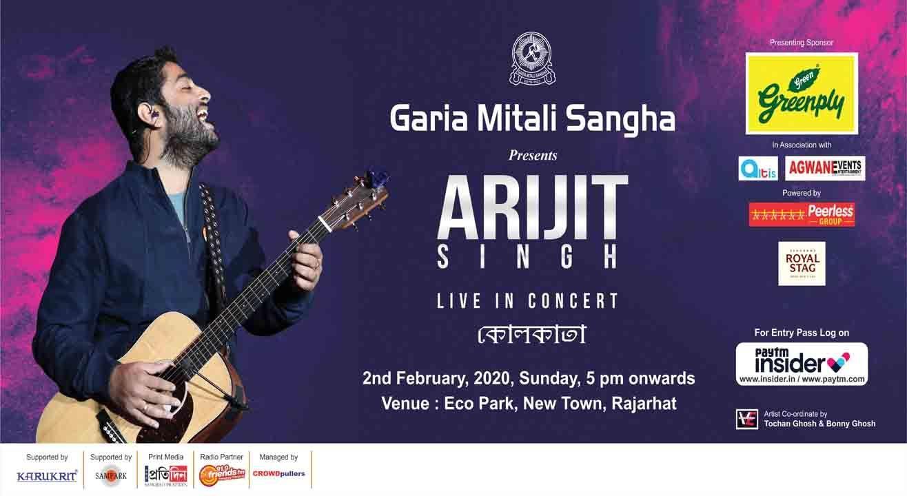Arijit Singh Live in Kolkata