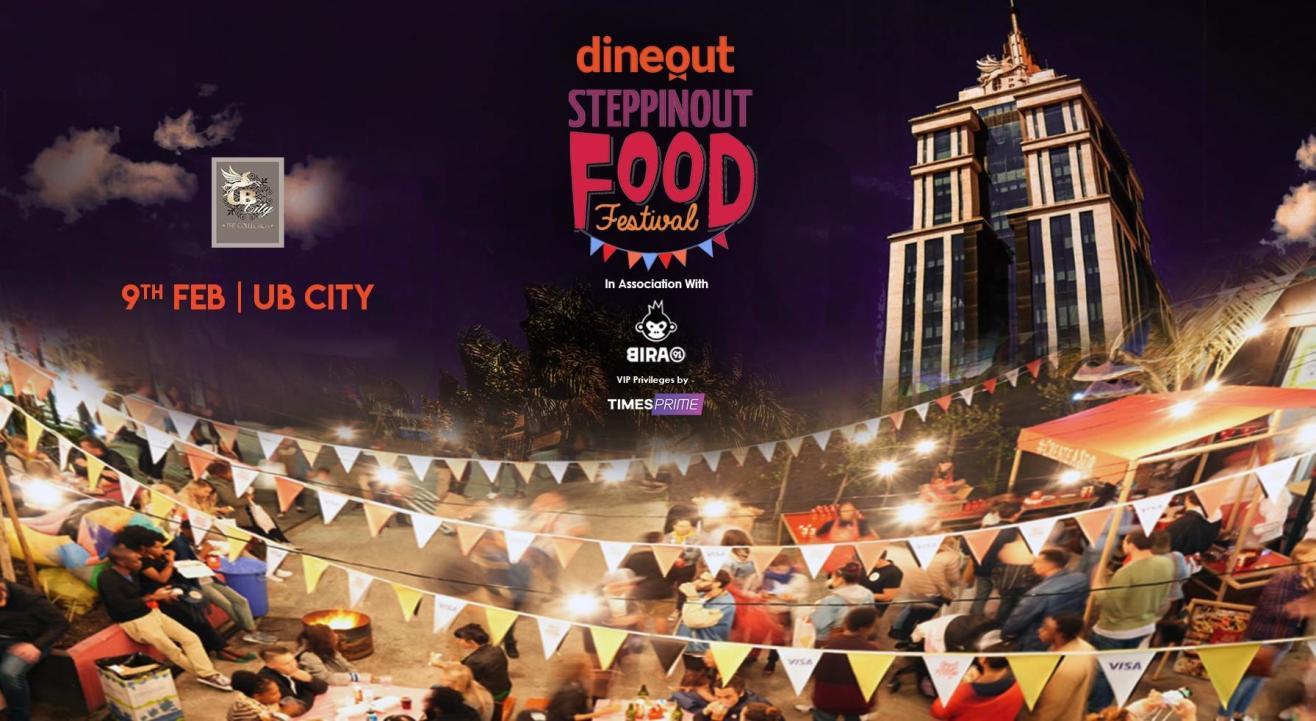 SteppinOut Food Festival   Bangalore