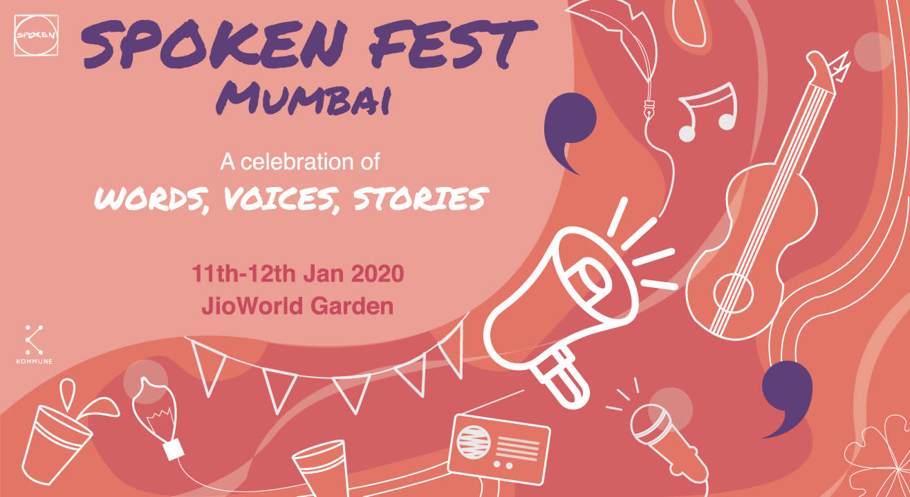 8 Reasons To Attend The Spoken Fest 2020 in Mumbai!