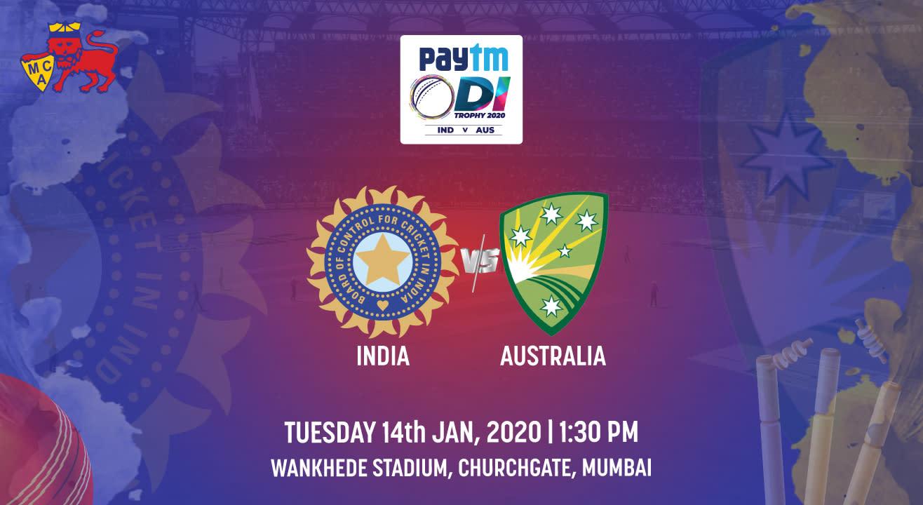 Paytm ODI Series 1st ODI: India vs Australia, Mumbai