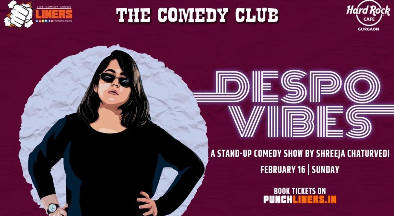 Punchliners Comedy Show; Shreeja Chaturvedi