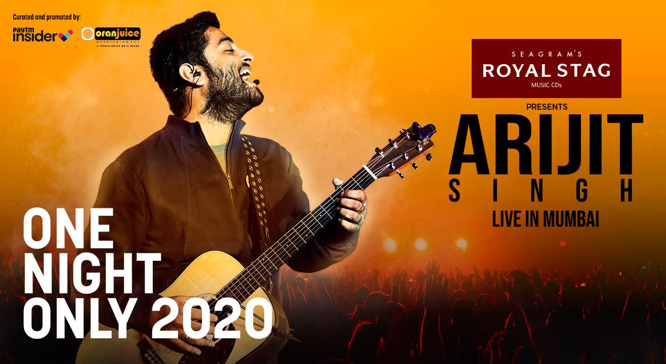 Arijit Singh Live in Mumbai | One Night Only 2020