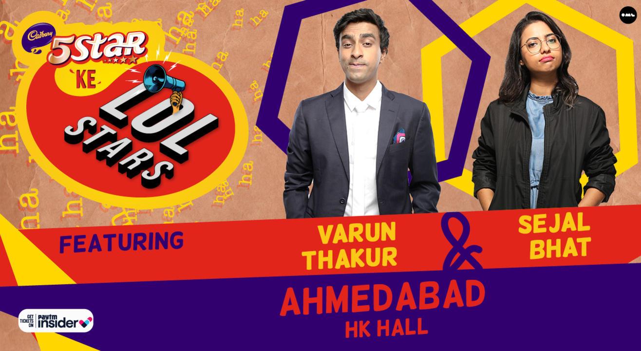 5Star ke LOLStars ft Varun Thakur & Sejal Bhat   Ahmedabad