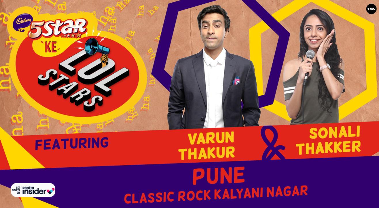 5Star ke LOLStars ft Varun Thakur & Sonali Thakker | Pune